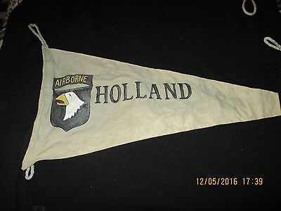 Wwii Us Army 101 St Airborne Div Holland Campaign  Banner  Flag