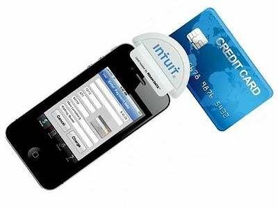 Intuit Go Payment Mobile Card Reader Swiper White 50-1528