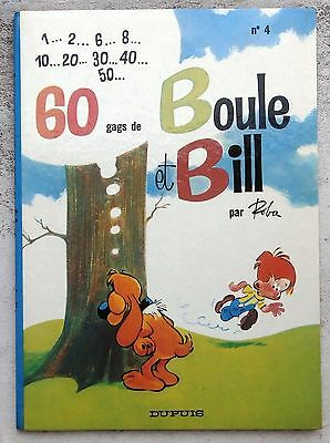 Boule et Bill 4 EO 1967 Comme Neuf Roba
