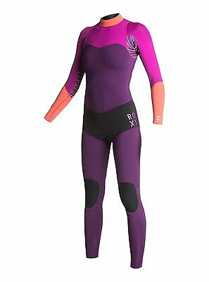 Quiksilver Roxy Womens Purple Orange Magenta XY 3/2MM Fullsuit Size 12 New $329