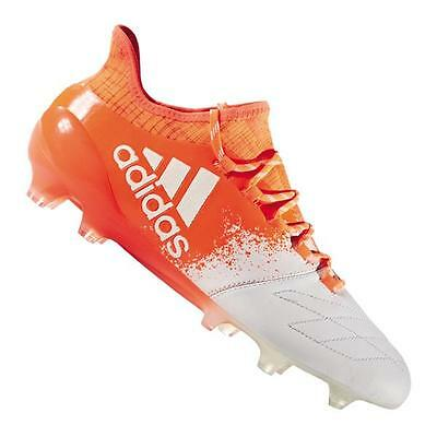 adidas X 16.1 FG Leder Orange Weiss