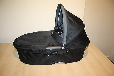 """Quinny Buzz pram and pushchair """" carrycot """" - black"""