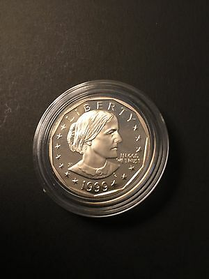 1999  One silver Dollar Susan B Anthony