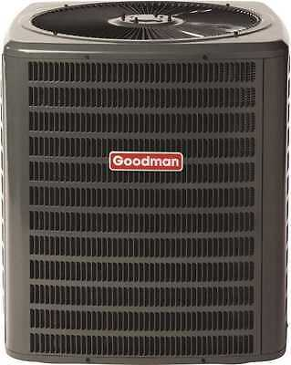Goodman 14 SEER 5 Ton 60,000 BTU AC R-410A Air Conditioner Condenser GSX140601