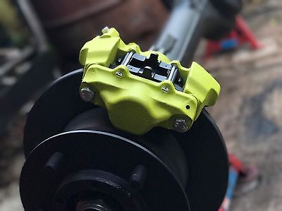 Porsche Acid Green Caliper Brake Paint Buzzweld Vht High Temperature Aerosol
