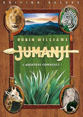 JUMANJI *** robin williams *** - DVD NEUF SOUS BLISTER