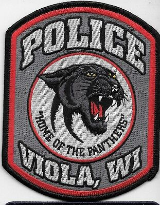 Viola Wis Wi Police Dept Home Of The Panthers Vpd Pd Wild Cat