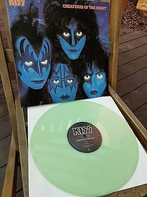 Kiss Creatures of the Night Vinyl Glow in the Dark Edition 1995