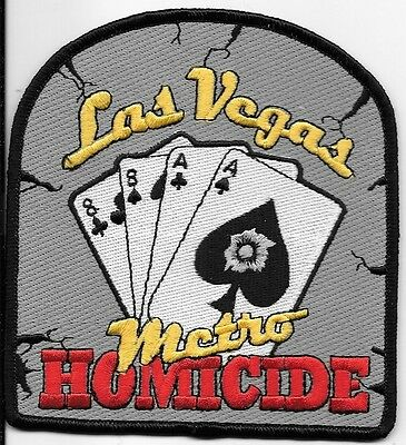 Las Vegas Nv Police Dept Metro Homicide Aces And Eights Lvpd