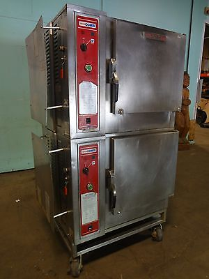 """blodgett"" Commercial Heavy Duty Electric Dbl. Stacked Combi Oven/steamer/cooker"