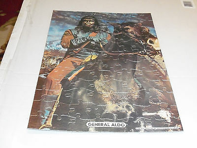 Planet of the Apes, 1967 Jigsaw Puzzle, OPENED & COMPLETE, Original Container