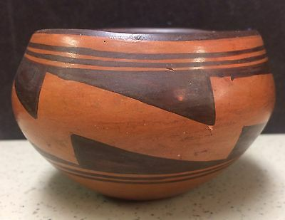 Maricopa Indian Native American Pottery Jar Vintage Old