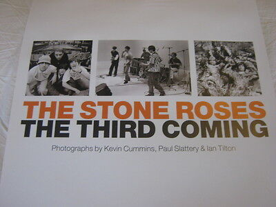 STONE ROSES - Third Coming Exhibition Poster 2012 Ian Tilton -Slattery - Cummins