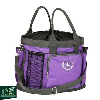 USG Large Grooming Bag – Lilac/Grey – Handy Bag For Competition Days