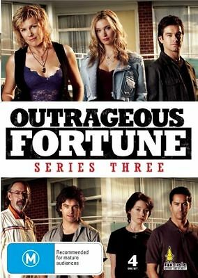 Outrageous Fortune : Series Season 3 (DVD, 2008, 4-Disc Set) BRAND NEW SEALED