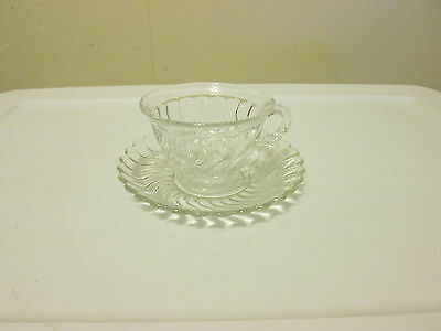 Fostoria COLONY Cup and Saucer