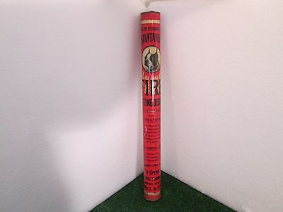 "Vintage Bull Dog Brand ""Instantaneous"" Fire Extinguisher, Full, Approx. 22"" Tall"