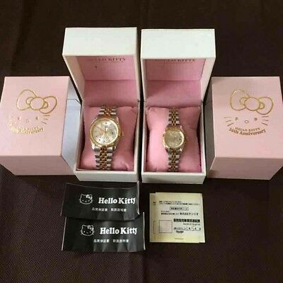 Never Use! New article Quantity limited serial number Yes Kitty pair watch