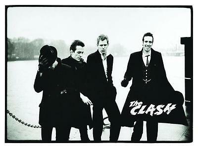 the Clash  *POSTER*  Punk Rock British U.K. Joe Strummer Mick Jones AMAZING