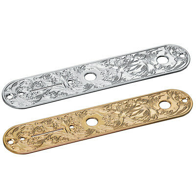 NEW GOTOH CP-10-ART-01 Engraved Control Plate for Telecaster Tele CHROME or GOLD