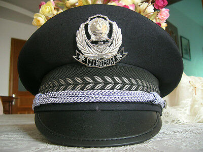 99's series China Police Spring and Autumn CAP,Hat,Black.