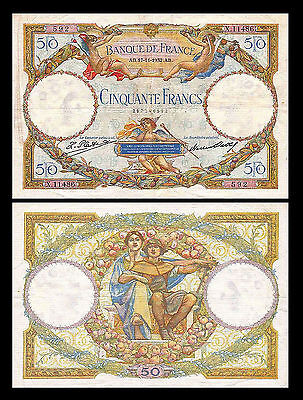 * * * 50 Francs - Issue 1930 - 1934 - 1 Banknote - 12 * * *