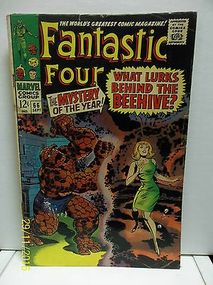 The Fantastic Four Vol 1 Number 66 Comic Book Very Good Condition