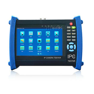 IP Camera Tester Coaxial IP Analog PTZ Camera CCTV Monitor Test IPC-8600 Series