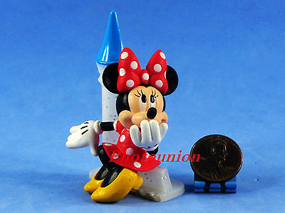 Cake Topper DISNEY Mickey Minnie Mouse FIGURE Display Decor Model Castle A330
