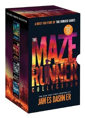 The Maze Runner Collection 4 Book Box Set by James Dashner Paperback