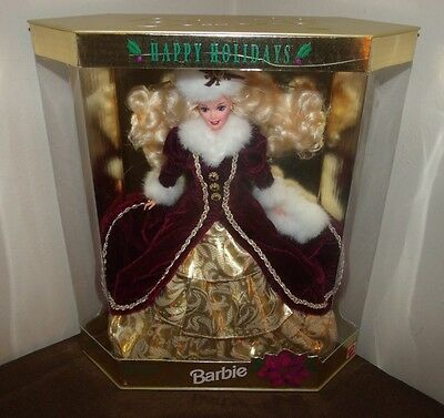 1996 Barbie Happy Holidays Special Edition Collector Doll NRFB