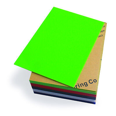 HQ New A4 Color Plastic Acrylic Sheet 2mm For DIY Design Laser Engraving Cutting