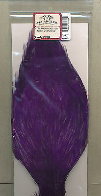 Streamer Rooster Neck - #1 - purple          CN0092