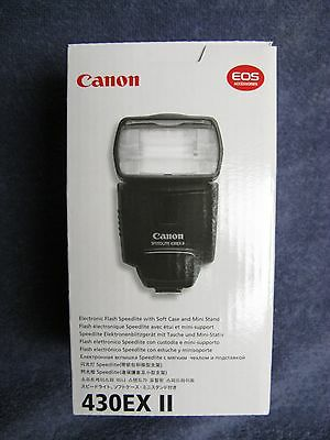 Canon Speedlite 430EX II Shoe Mount Flash for Canon USA Model not imported