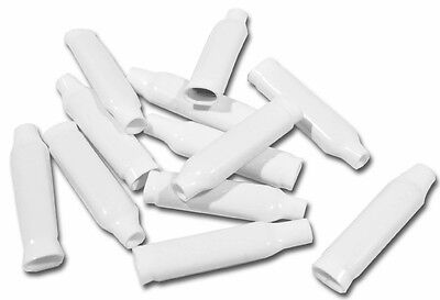B Wire Connectors White 250 Pack, clips security phone line wire bean dolphin