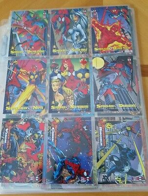 1994 MARVEL FLEER Amazing SPIDER-MAN Cards lot of 70 special edition rare