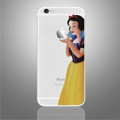 Snow White Princess Disney iphone Sticker Viny Decal for iPhone 6, 6s,7