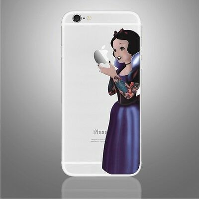Snow White Princess Disney Goth iphone Sticker Viny Decal for iPhone 6, 6s,7