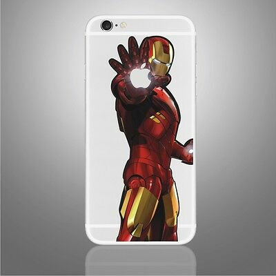 Iron Man COOL iphone Sticker Viny Decal for iPhone 6, 6s,7
