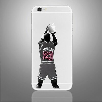 Michael Jordan MJ #23 Sticker Viny Decal iPhone 6, 6Plus, 6s,6s Plus, 7,7 Plus
