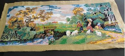 European Design - Large Finished Tapestry  - Finished By Me - New