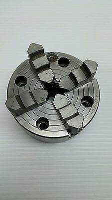 """Forkardt 4.5"""" Independant 4 Jaws Chuck Germany"""