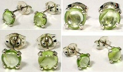 "18thC Antique 1ct Peridot Ancient ""Gem of the Sun"" Protect Against Evil Eye .925"