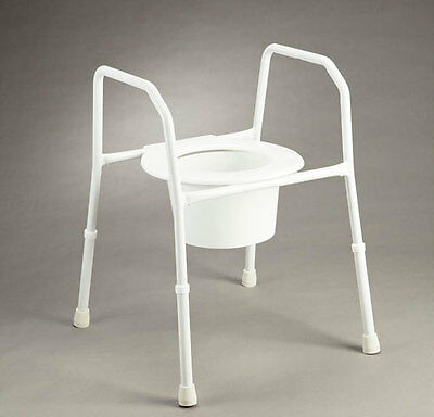 Over Toilet Aid/Chair - CareQuip - Weight Capacity 125kg
