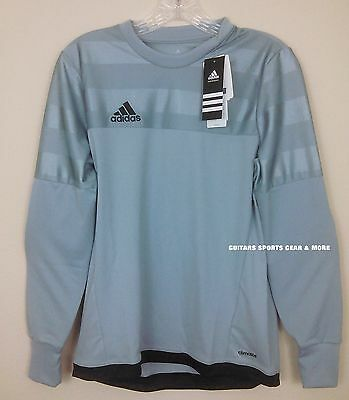 Adidas Entry 15 GK Goal Keeper Jersey Padded Elbow Long Sleeve Youth/Adult Sizes