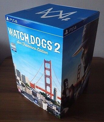 Watch Dogs 2 San Francisco Collector's Limited Edition Ps4 Pal Uk New Sealed