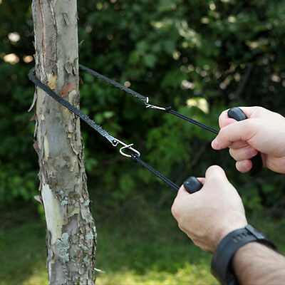 Outdoor Use Steel Alloy Trimming Saw Camping Portable Hand Pocket Chain Saw