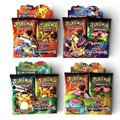Pokemon TCG Booster Box Card - Evolutions English Edition - 36 Packs 324Pcs Hot