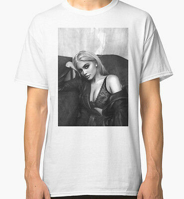 Kylie Jenner Sexy White T-Shirt Tees Clothing