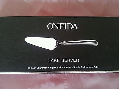 Cake Server By Oneida Stainless Steel High Quality Pistol Grip Bnib Perfect Gift